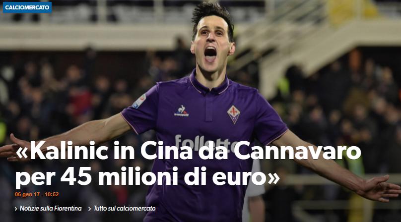 Urmatorul transfer urias facut de chinezi. S-au inteles cu un club din Serie A pentru 45.000.000 de euro