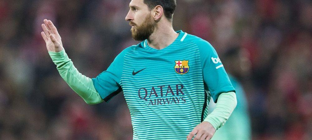 """""""Am si acum precontractul semnat de Messi!"""" Echipa care crede ca il poata transfera de la Barca pe Messi"""
