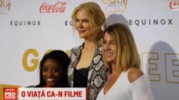 Nadia, prezenta la evenimentul de dinainte de Oscaruri alaturi de vedete de la Hollywood! VIDEO