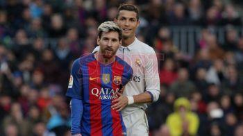 Cu cine au votat Ronaldo si Messi la trofeul FIFA Best Player. Cei doi rivali nu si-au calcat pe orgoliu