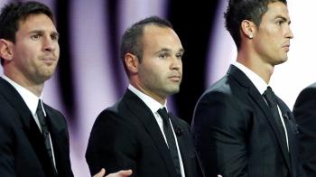 Iniesta si-a cerut SCUZE in fata rivalilor de la Madrid! De ce nu au mers jucatorii Barcei la gala FIFA