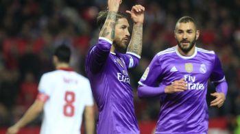 """""""OMOARA-TE!"""" Atac incredibil al fanilor Sevillei la partida cu Real! Gestul facut de un jucator i-a enervat"""