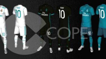 Cum arata noile echipamente ale Realului pentru sezonul 2017-2018