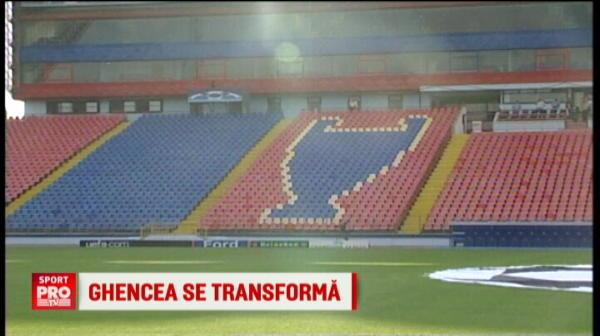 Intra buldozerele in Ghencea. Stadionul va fi demolat si se va construi unul nou de 31.000 de locuri