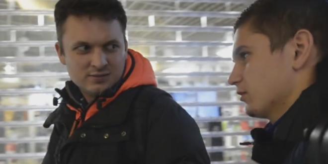 Yes! Yes! No! No! No!  Belgienii l-au asteptat pe Razvan Marin la aeroport! Ce le-a zis :))