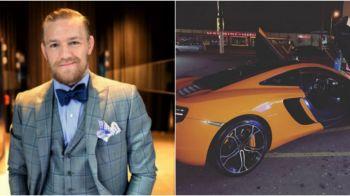"""McGregor, oprit de Politie in timp ce """"se dadea"""" cu un McLaren de 250.000 de euro"""