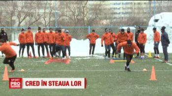 Antrenamente la -10 grade pentru Liga 1! Ce club TREMURA la gandul ca nu va mai exista Steaua