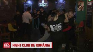 Un bar din Bucuresti a preluat ideea din Fight Club! Ce ii invata un profesor de arte martiale pe clienti
