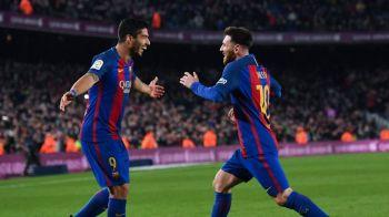 Messi si Suarez sunt aproape de a intra in istorie! O singura data s-a mai intamplat asa ceva in fotbal