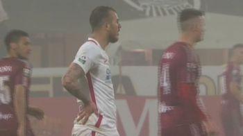 Debut halucinant pentru Alibec la Steaua! Gol dupa 14 minute, 2 galbene in 7 minute! Ce s-a intamplat