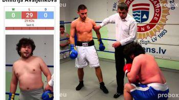 GENIAL! Acest boxer a strans 29 de infrangeri in 29 de meciuri, toate prin KO! Vezi cum boxeaza :)) VIDEO