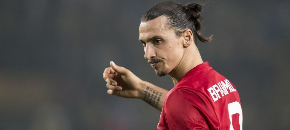 Reactia geniala a lui Zlatan dupa HATTRICKUL nebun reusit aseara in Europa League. Ce a anuntat