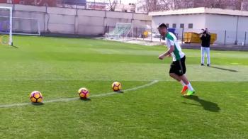 Cum a ajuns Tosca sa loveasca la Betis precum Ronaldinho :) Provocarea la care a fost supus