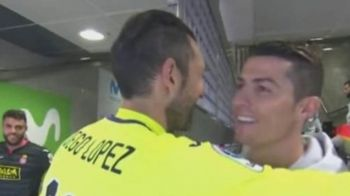 Cristiano Ronaldo NU STIA ca este filmat! Ce i-a spus unui adversar la ureche. SUPER VIDEO