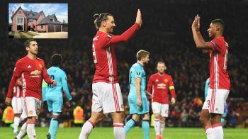 Pustiul lui Man United se muta intr-o casa URIASA! Cum arata locuinta pe care a cheltuit peste 2mil €