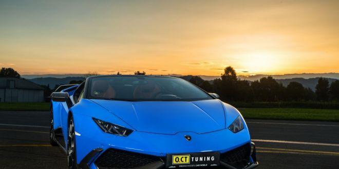 FABULOS! Cat de puternic poate sa fie un Lamborghini Huracan?! Cam atat: