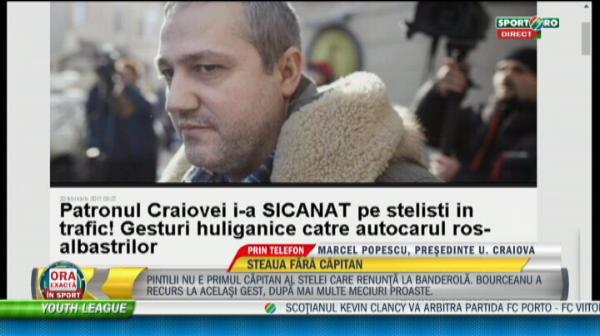 Prima reactie a Craiovei despre presupusul incident in trafic cu patronul Rotaru si autocarul Stelei