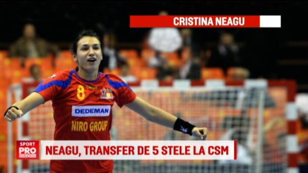 """EXCLUSIV: """"Am ales cu sufletul, nu pentru bani"""". Reactia Cristinei Neagu dupa transferul la CSM"""