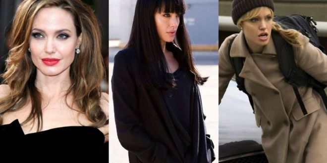 Multe femei vor sa arate ca Angelina Jolie, dar ea ii seamana perfect. Cine e femeia care pare sora geamana