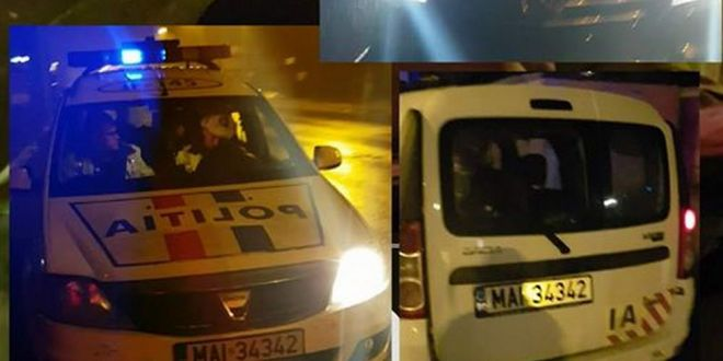 Zicu a pozat masina politiei si a pus-o pe Facebook:  Sa-mi spuneti voi daca e normal ce se intampla!  FOTO