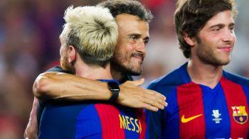 Fotografia care tradeaza relatiile reci de la Barca? Cum a reactionat Luis Enrique la golul lui Messi