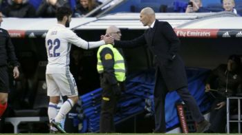Veste proasta pentru Zidane! Isco, gata sa plece de la Real! Ce oferte are