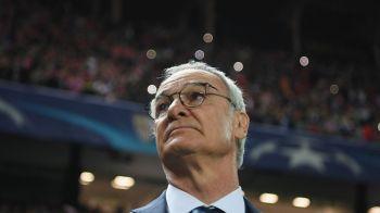 Destinatie surpriza pentru Ranieri: poate antrena un roman! Juventus si Arsenal, implicate in mutari