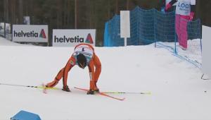 COMEDIE PURA! A ajuns la Mondial fara sa vada zapada in viata lui! Cel mai slab skior din istorie :))