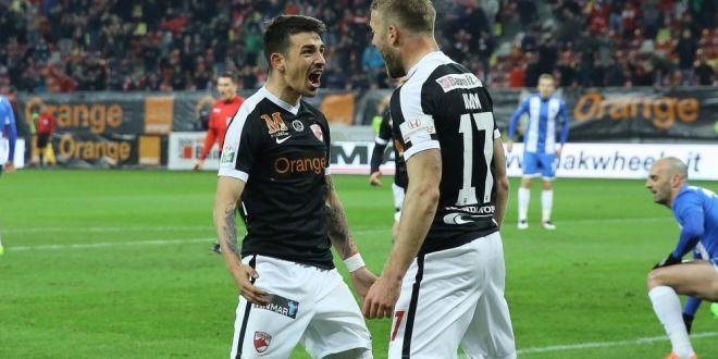 Meci de vis pe National Arena, Dinamo ramane in viata dupa 2-1 cu Craiova! Cum arata clasamentul