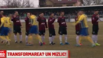 """Steaua transformata in Rapid joaca in culorile lui Dinamo :) In ce oras din Romania are loc """"anomalia"""""""