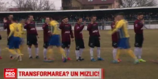 Steaua transformata in Rapid joaca in culorile lui Dinamo :) In ce oras din Romania are loc  anomalia