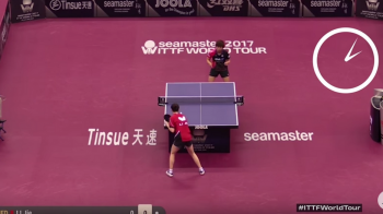 Cel mai lung punct din ISTORIE la ping pong: 10 minute si 13 secunde, 766 de schimburi! VIDEO FABULOS