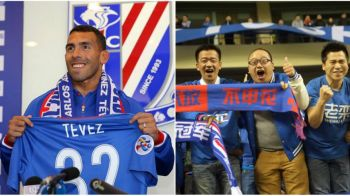 Tevez le-a aratat chinezilor de la primul meci ca isi merita banii. Ce a facut la debutul la Shanghai