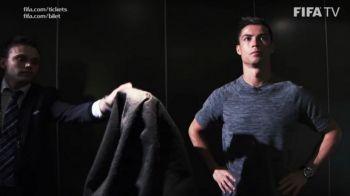 """""""NU-L ATING, NU-L ATING!"""" Reactia lui Ronaldo cand FIFA i-a prezentat trofeul! Ce superstitie neasteptata are"""