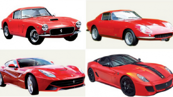 Ferrari implineste 70 de ani! FOTO: Cele mai tari 10 modele din istorie! Cel mai scump costa acum 52 mil €