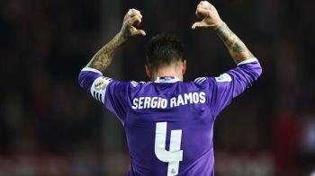 Atunci cand fundasii chiar iti castiga titluri! Pe ce loc ar fi Real Madrid fara golurile lui Sergio Ramos