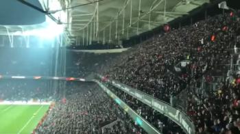 """Aroganta uriasa turcilor in fata """"dusmanilor"""" greci. Ce au cantat fanii lui Besiktas dupa ce au eliminat-o pe Olympiakos"""