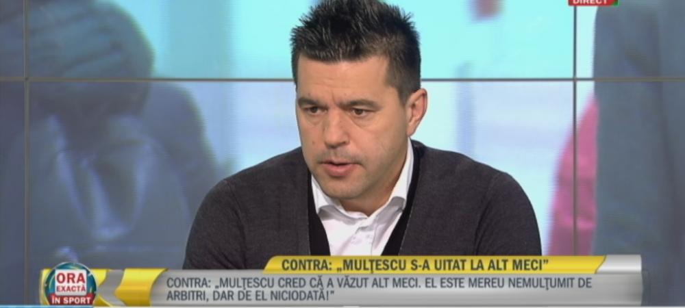 EXCLUSIV Contra pune 2 conditii pentru prelungirea contractului cu Dinamo. Ce mesaj i-a transmis lui Negoita