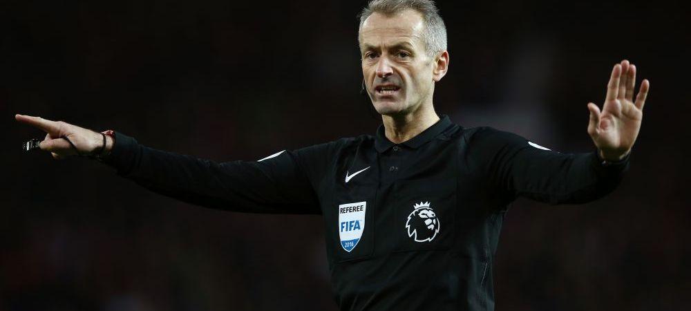 Ne arbitreaza englezii cu danezii! Arbitrul de la Bayern 3-2 CFR din 2010, la centru la Romania - Danemarca