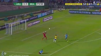 Brazilia a DEMOLAT-O pe Uruguay! Neymar a reusit un LOB superb, hattrick si gol cu pieptul Paulinho