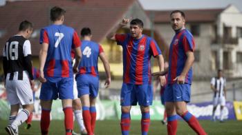 Marea Unire de la Cluj: echipa care a imbracat azi un echipament jumatate FCSB - jumatate CSA Steaua chiar sub ochii lui Burleanu