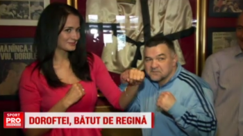 "Doroftei a dat boxul pe sah si a fost batut de o fosta Miss Romania: ""Are 1-0, dar repriza a doua e in ring"" :)"