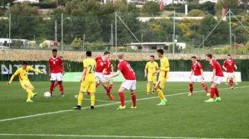 Dupa umilinta cu Rusia, nationala U21 a Romaniei, cu Ianis Hagi in teren, a pierdut azi si cu Danemarca