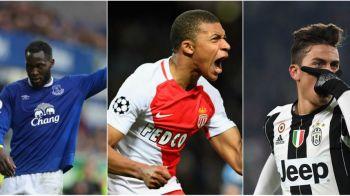 TOP 5 atacanti pe care se vor bate cluburile in vara. Jucatorii care pot trece de 100 milioane euro in 2017