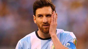 "Prima reactie dupa suspendarea drastica primita de Messi: ""Leo e trist, iar eu sunt manios"". Argentinienii fac recurs"