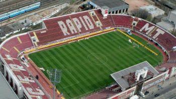 La 16 ani dupa ce Ronaldinho a pasit pe gazonul sau, Giulestiul stinge lumina! Rapid a jucat ultimul meci in nocturna pe vechea arena
