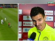 "Benzar, GENIAL la interviu dupa meciul cu Astra. ""Trebuie sa castigam in P-O-L-O-N-I-A, DA???"" :))) VIDEO"