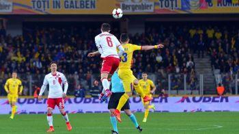 Romania, pe 47 in lume! FIFA a publicat clasamentul pentru aprilie. Am cazut 7 locuri dupa 0-0 cu Danemarca
