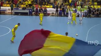 VIDEO Final senzational la futsal: Romania a marcat doua goluri in ultimele 4 secunde, 5-5 cu Finlanda