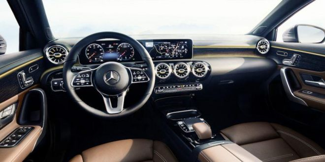 GALERIE FOTO: VEZI interiorul noului Mercedes-Benz Clasa A!
